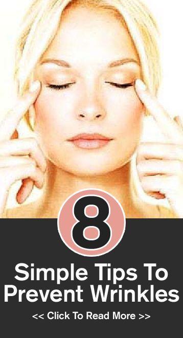 Simple Tips To Prevent Wrinkleshttp://www.stylecraze.com/articles/simple-tips-to-prevent-wrinkles/