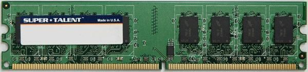 Super Talent DDR2-533 1GB-128x8 CL4 Memory