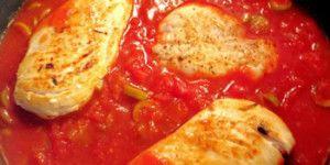 Ragoût de poulet tomates à la mijoteuse