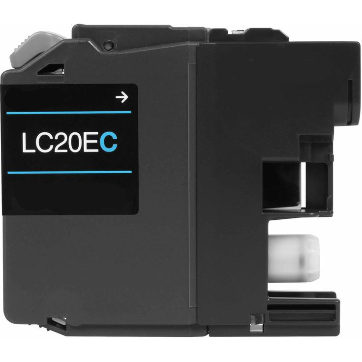 Buy LC-20E (LC20EC) Super HY Cyan Ink Cartridge for Brother at Houseofinks.com. We offer to save 30-70% on ink and toner cartridges. 100% Satisfaction Guarantee.