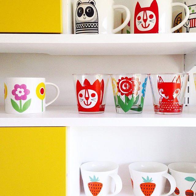 Kitchen units - mugs @makeinternational