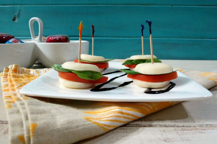 Mini Cheesy Caprese Sandwich | Recipe