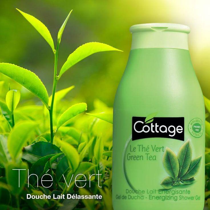 Le thé vert a des vertus déstressantes, tout comme une douche énergisante Cottage…