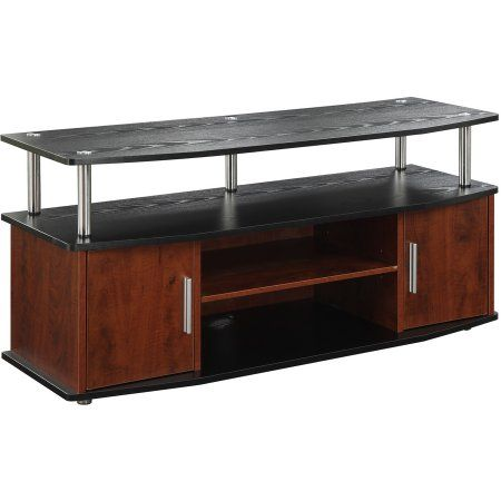 Convenience Concepts Designs2Go Black/Cherry Monterey TV Stand for TVs up to 46 inch