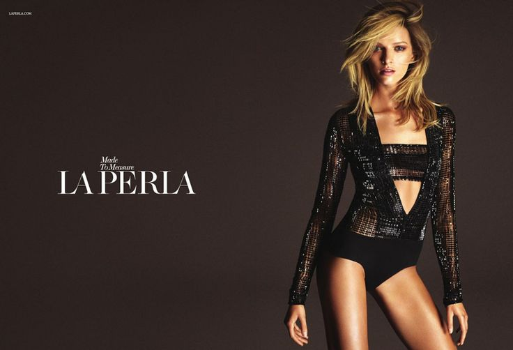 Daria Strokous Photo for La Perla Fall Campaign Revealed
