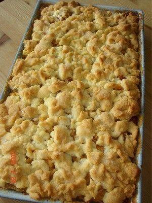 'Schneller Apfelkuchen mit Streuseln'