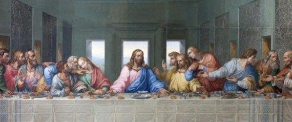 DAS LETZTE ABENDMAHL...L.Da Vinci   Aber was wurde dort tatsächlich gegessen?