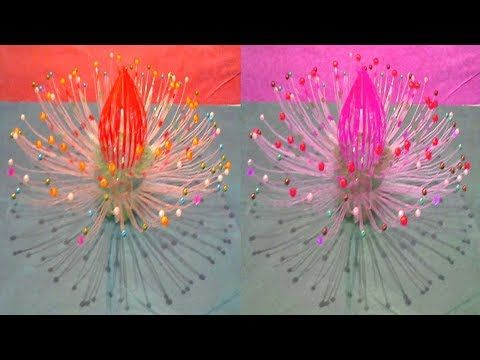 Make Beautiful Flower/Recycling Ideas/Decorate Your Room/Amazing Show Pieces With Plastic Bottles - YouTube