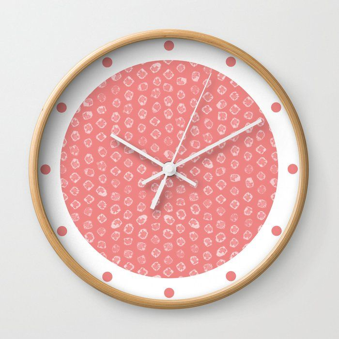 Good Times Rethink The Traditional Timepiece As Functional Wall Decor You Ll Love How Our Artists Are Converting Some Of Th In 2020 Pink Wall Clocks Wall Clock Clock