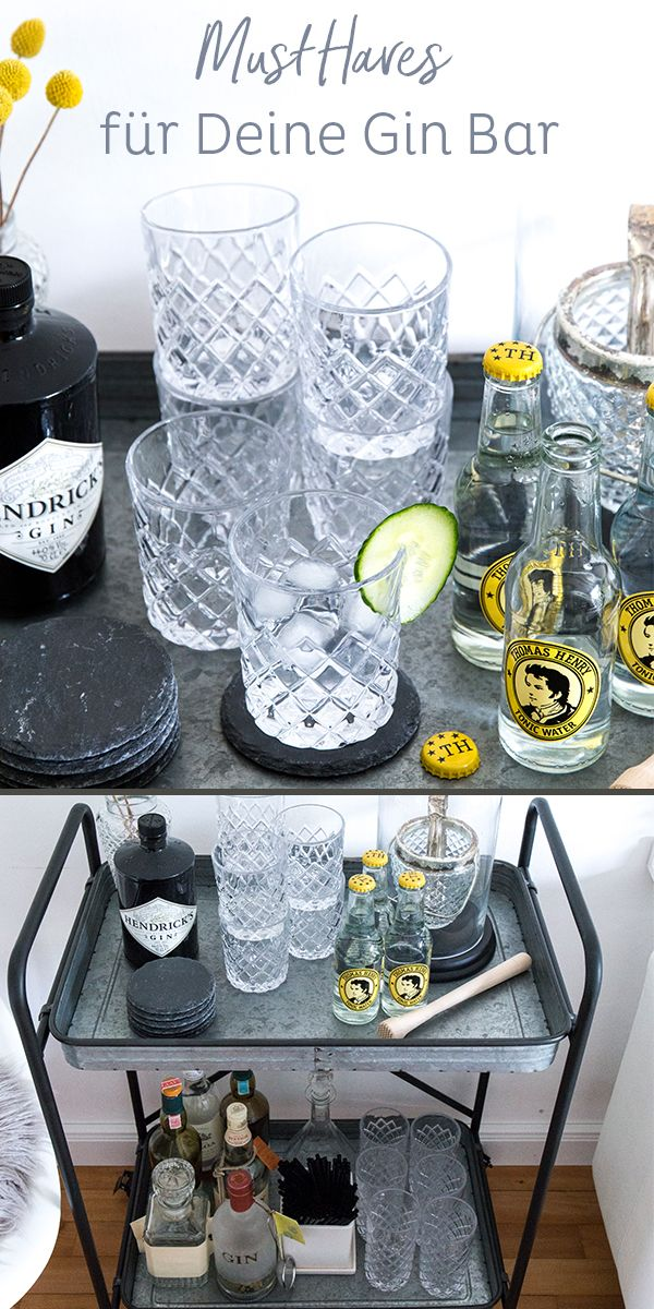 What belongs in a good gin bar | Your must haves on the bar next to Gin & Co – we'll show you the bar essentials. Now click in!