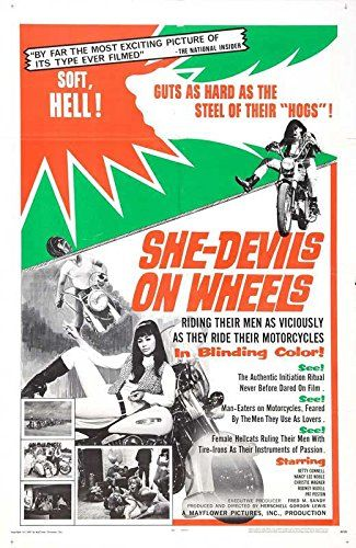 """She-Devils on Wheels POSTER (27"""" x 40"""") Poster & Prints"""