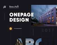 BOSS&HALL - luxury apartments in Moscow onepage