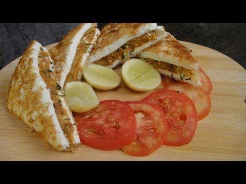 Paneer Sandwich Kabab