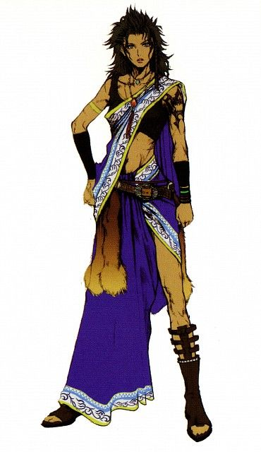 Week 13 - Final Fantasy XIII - Concept Art Mon -  Oerba Yun Fang