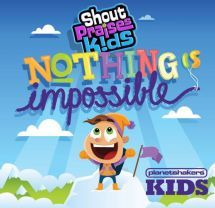 NOTHING IS IMPOSSIBLE CD/ DVD by PLANETSHAKERS KIDS. It is a collection of the very best songs from Planetshakers and is the perfect combination of high energy praise and age appropriate worship ... Made especially for the kids in your life. Nothing Is Impossible is one of those rare kids recordings that will energize children's church around the world, as well as find a place in homes and cars everywhere. Available from CUM Books.