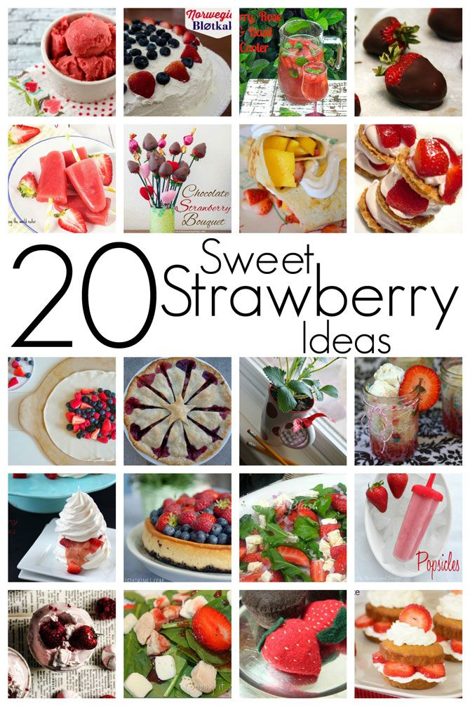 Block Party: Strawberry Recipes Features - Rae Gun Ramblings