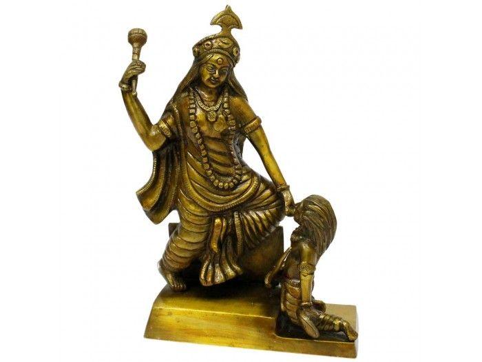 Exclusive Bagalamukhi Statue Buy online from Vedic Vaani.