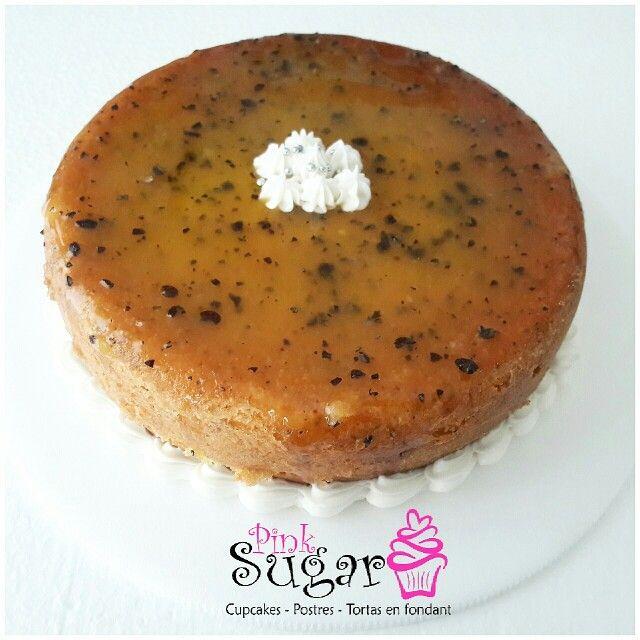 P228 Torta de maracuya con semillas de amapola decorada con glaseado de maracuya pinksugar #pinksugar #cupcakes  #homemade  #casero  #barranquilla #pasteleria #reposteriacreativa #tortas #fondant #reposteriabarranquilla #happybirthday  #cake #baking  #galletas #cookies  #pinksugar #wedding #buttercream #vainilla #minion #oreo #passionfruit #cupcakesbarranquilla #brownie #brownies #chocolate #teamo #amoryamistad #amor #maracuya #amapola