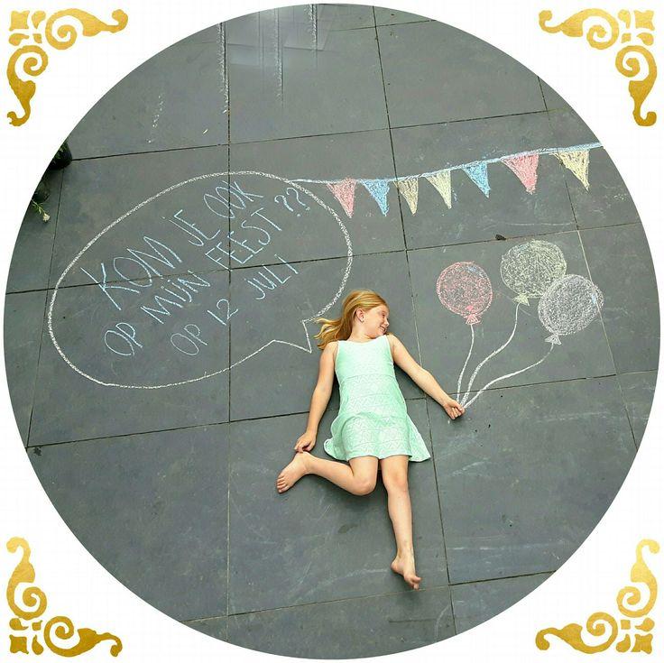 Uitnodiging kinderfeest @handmadebylenicka