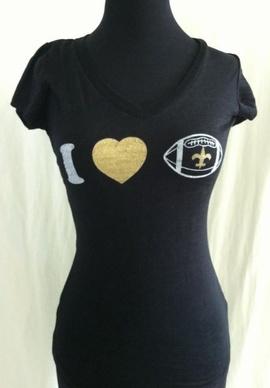 Womens New Orleans Saints Black Pylon Halter Top