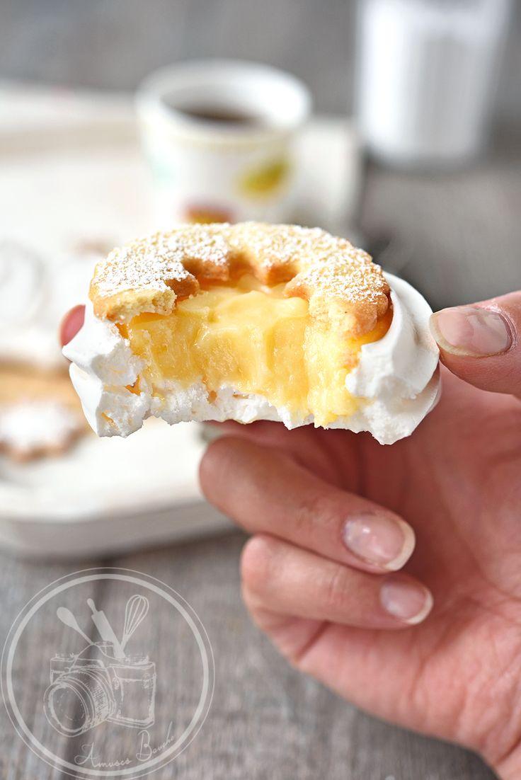 Tarte citron meringuée inversée