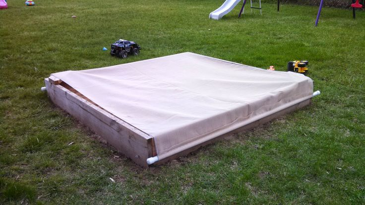Cover your sandboxes folks. Don't go through the shame, worry and hysteria of a fecal CATastrophy. Check out my build of a simple and cheap solution that takes care of a number of sandbox sins. Thanks to this blogger Valerie for the idea.