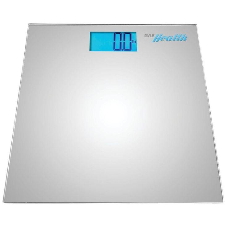 PYLE PHLSCBT2SL Bluetooth(R) Digital Weight Scale (Silver)