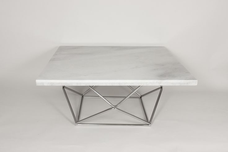 marble hex coffee table - mid century modern marble coffee table