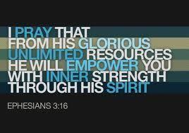 ephesians 3:16-19   Ephesians 3:16-19   God Speaks I Listen