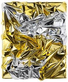 Anselm Reyle - Gold/Silver Foil