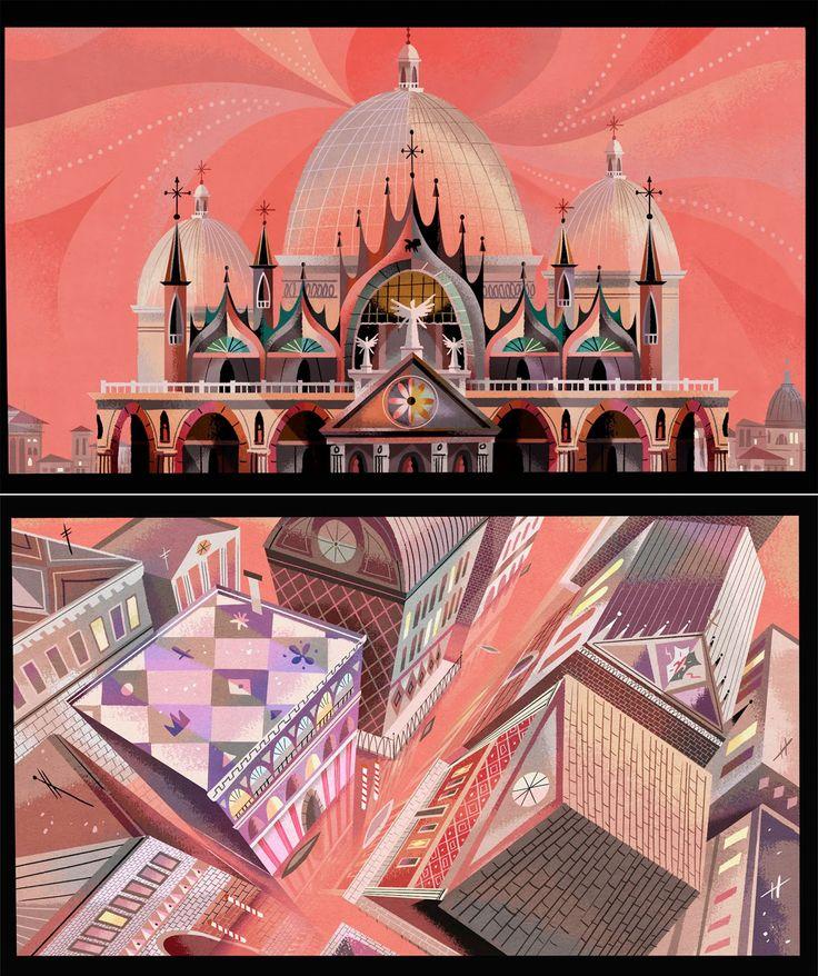 Artes da animação O Sole Minnie (Mickey Shorts) | THECAB - The Concept Art Blog