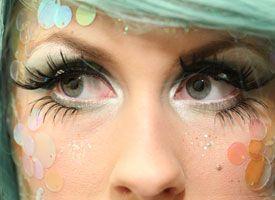 Halloween Mermaid Makeup Tutorial on Etsy...this is so cool looking!!