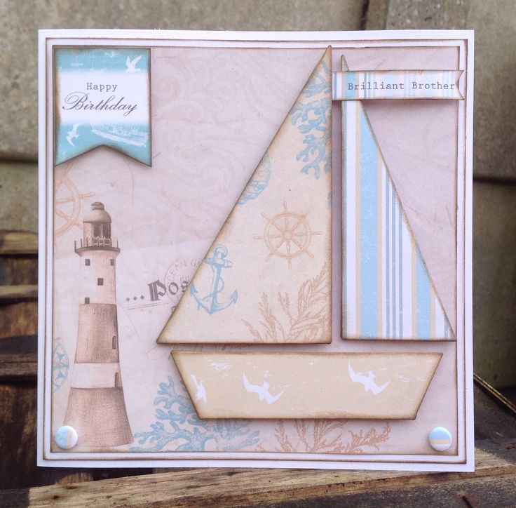 Card designed by Emma Smith using Coastal Paper pad and Candi