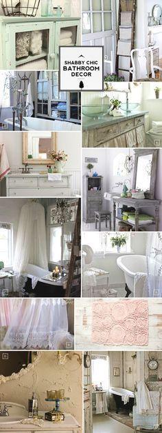 Badezimmer Shabby Chic. Gardinen - Die Englische Küche 60 Cm