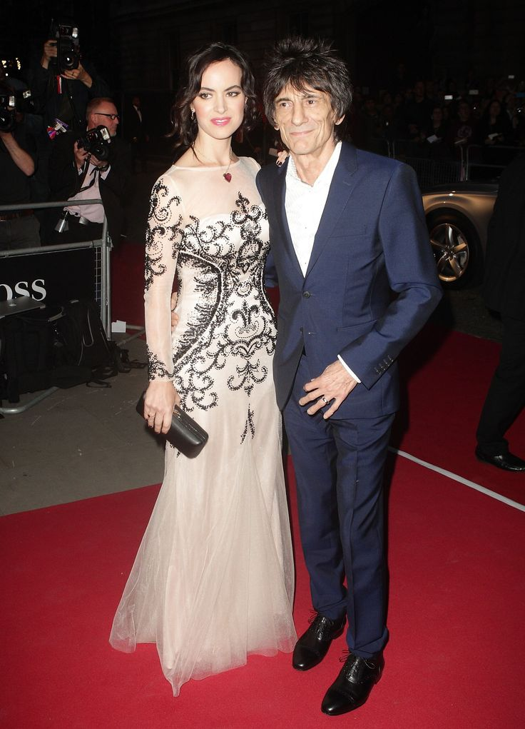 Ronnie Wood & Wife Expecting Twins - http://site.celebritybabyscoop.com/cbs/2015/12/08/ronnie-expecting-twins #RonnieWood, #SallyHumphreys, #TheRollingStones, #Twins