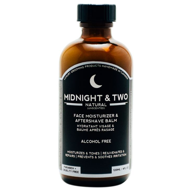 Midnight & Two Natural Aftershave uses only natural, organic materials with no fragrance, chemicals, or preservatives. Repair and rejuvenate your skin after shaving with this balm. Available at House of Knives.