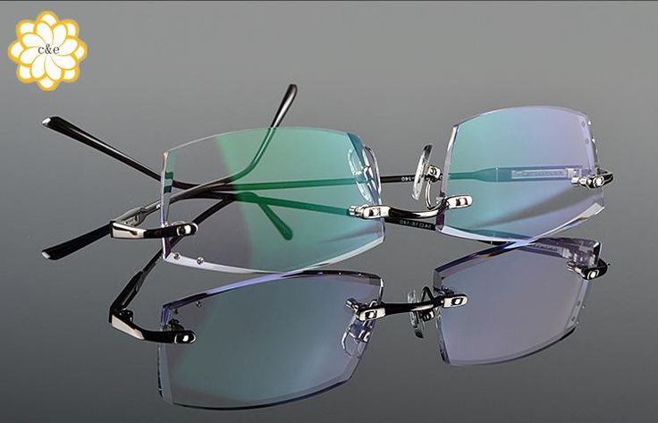 Aliexpress.com : Buy 2015 new fashion round titanium flexible rimless glasses frames for men or women No Lens gold frame with glasses 3color from Reliable framing a wall mirror suppliers on c&e glasses  | Alibaba Group