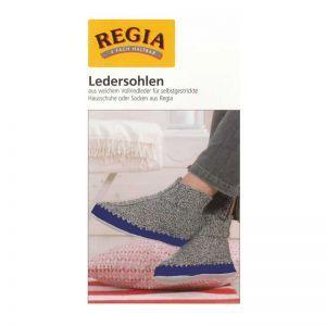 Regia Ledersohlen blau Gr. 40/41