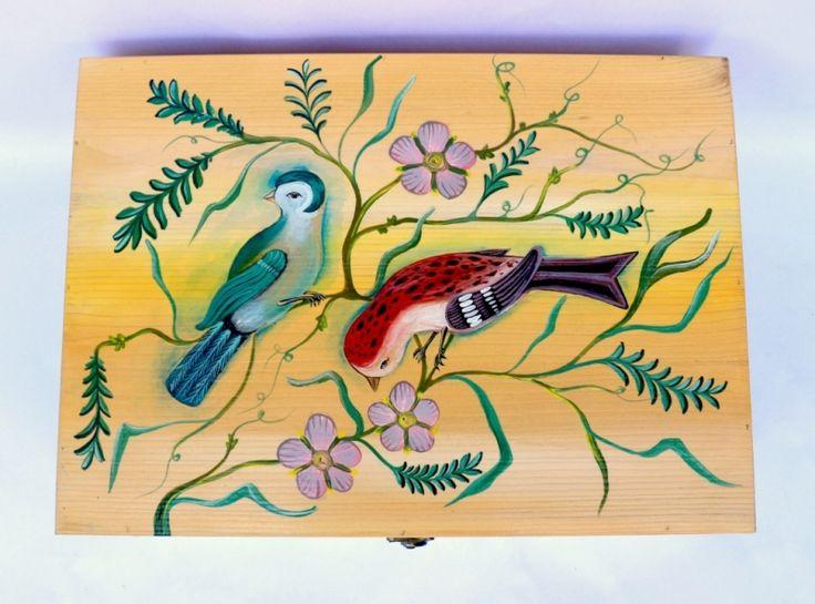 "Cufar+bani+nunta+""Vintage+Birds"""