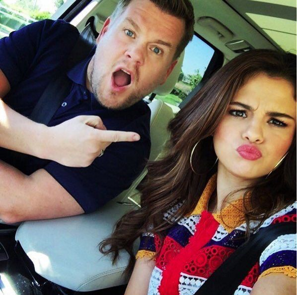 James (Corden) just made an Instagram and this is his 1st post. I think/know he's giving us a hint. This means Selena is gonna be on a carpool karaoke in the very near future!!!!!!!