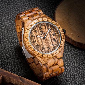 Man Wooden Watch Brand Quartz Watch Role Men Relogio Masculino Watches Vintage Retro Wood Watch