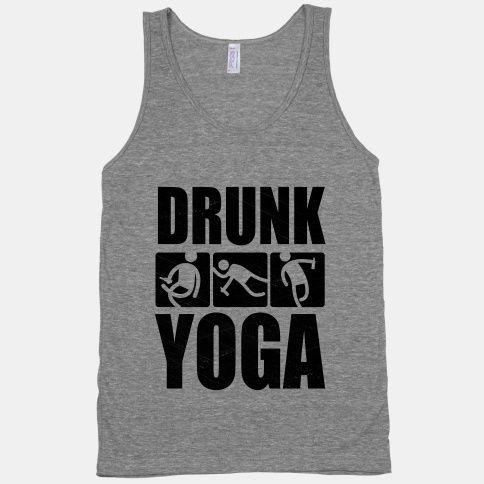 Drunk Yoga   HUMAN