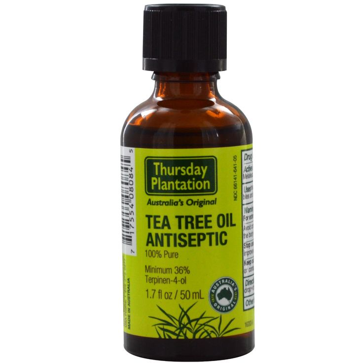 tree oil is known for natrually getting rid of acne