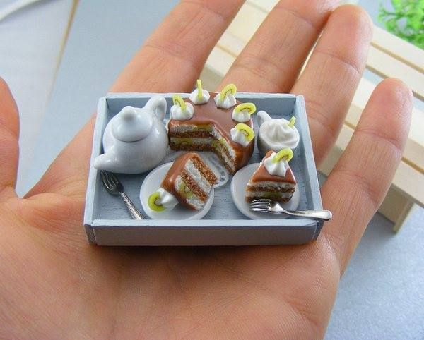 Breakfast Miniature #breakfast #miniature