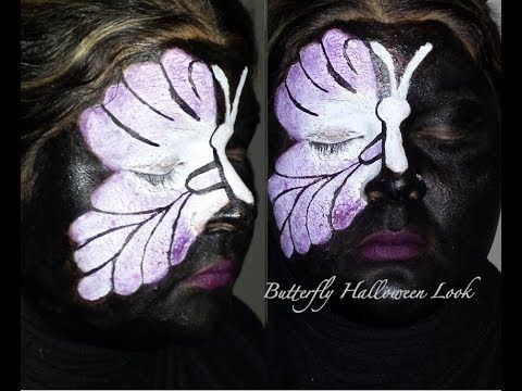 How to: Halloween Butterfly Makeup
