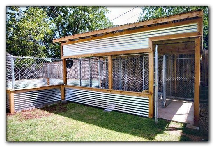 Dog run ideas backyard in 2020 diy dog kennel dog