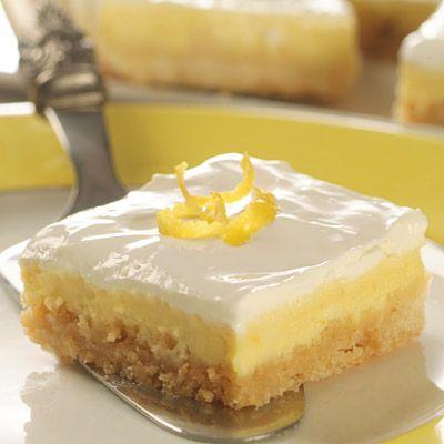 Lui in Cucina: Lemon Cheesecake Bars