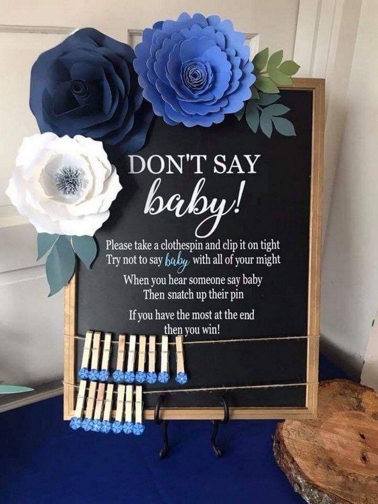 54 de kronieken van ideeën voor baby shower-decoraties voor jongens 32