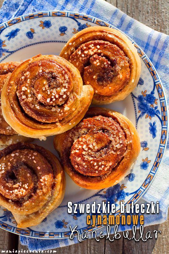 Szwedzkie bułeczki cynamonowe - Kanelbullar / Swedish Cinnamon Rolls