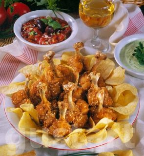 Lajos Mari konyhája - Szezámmagos csirkebuzogányok